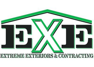 EXE Logo green and black.