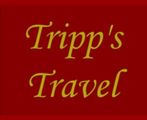 Tripps Travel text image.