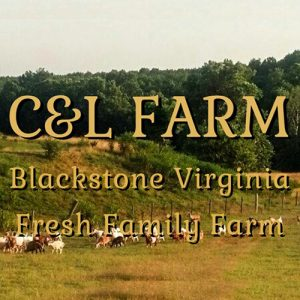 Website home page for C&L Farm.