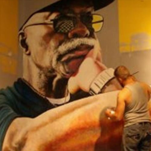 Website home page for Ian The Painter-Muralist.