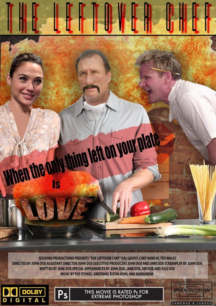 Key art, Chef in love.
